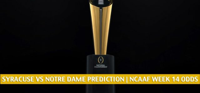 Syracuse Orange vs Notre Dame Fighting Irish Predictions, Picks, Odds, and NCAA Football Betting Preview | December 5 2020