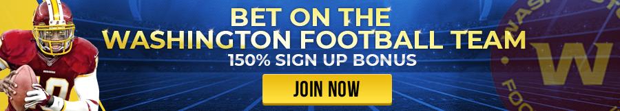 Bet on the Washington Football Team