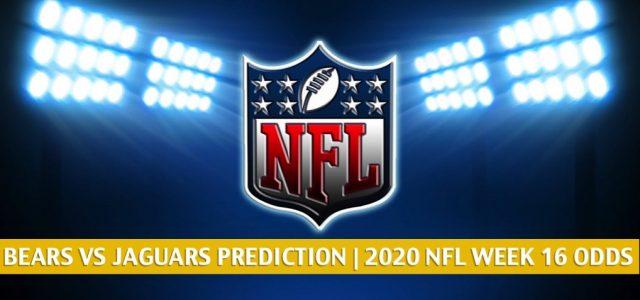 Chicago Bears vs Jacksonville Jaguars Predictions, Picks, Odds, and Betting Preview | NFL Week 16 – December 27, 2020
