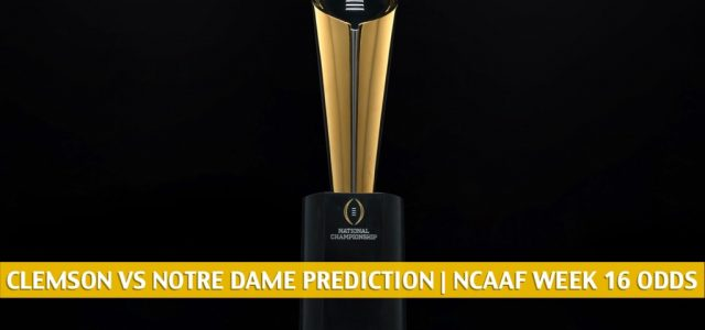 Clemson Tigers vs Notre Dame Fighting Irish Predictions, Picks, Odds, and NCAA Football Betting Preview | December 19 2020