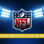 Indianapolis Colts vs Las Vegas Raiders Predictions, Picks, Odds, and Betting Preview | NFL Week 14 - December 13, 2020