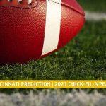 Georgia Bulldogs vs Cincinnati Bearcats Predictions, Picks, Odds, and Preview - Chick-fil-A Peach Bowl | January 1 2021