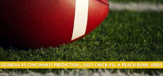 Georgia Bulldogs vs Cincinnati Bearcats Predictions, Picks, Odds, and Preview – Chick-fil-A Peach Bowl | January 1 2021