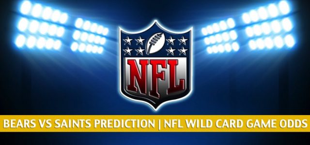 Chicago Bears vs New Orleans Saints Predictions, Picks, Odds, and Betting Preview – NFL NFC Wild Card Round | January 10, 2021