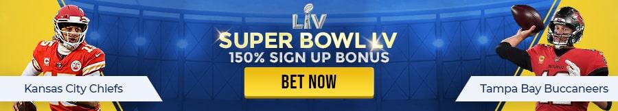 Bet on Super Bowl LV