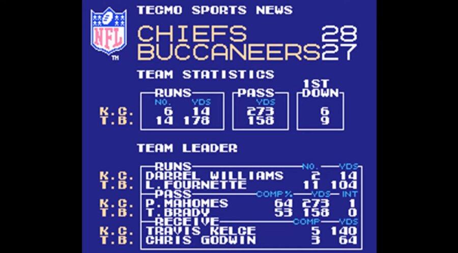 Tecmo Super Bowl Prediction