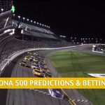 Daytona 500 Predictions, Picks, Odds, and NASCAR Betting Preview - February 14 2021
