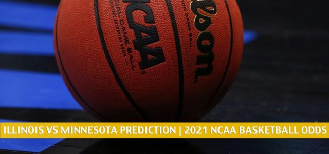 Illinois Fighting Illini vs Minnesota Golden Gophers Predictions, Picks, Odds, and NCAA Basketball Betting Preview – February 20 2021