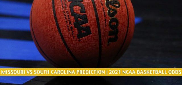 Missouri Tigers vs South Carolina Gamecocks Predictions, Picks, Odds, and NCAA Basketball Betting Preview – February 20 2021