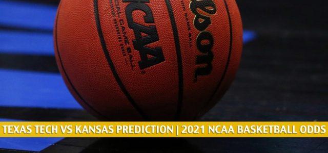 Texas Tech Red Raiders vs Kansas Jayhawks Predictions, Picks, Odds, and NCAA Basketball Betting Preview – February 20 2021