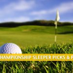 2021 WGC Championship Sleepers and Sleeper Picks and Predictions