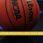 Texas Tech Red Raiders vs Texas Longhorns Predictions, Picks, Odds, and NCAA Basketball Betting Preview - March 11 2021