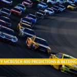 Buschy McBusch Race 400 Predictions, Picks, Odds, and Betting Preview   May 2 2021