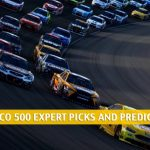 2021 GEICO 500 Expert Picks and Predictions