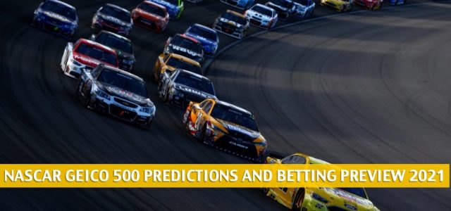 GEICO 500 Predictions, Picks, Odds, and Betting Preview | April 25 2021