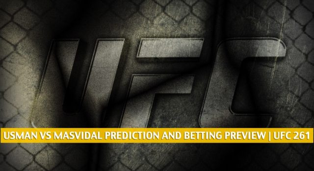Kamaru Usman vs Jorge Masvidal Predictions, Picks, Odds, and Betting Preview | UFC 261 April 24 2021