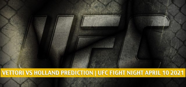 Marvin Vettori vs Kevin Holland Predictions, Picks, Odds, and Betting Preview   UFC Fight Night April 10 2021