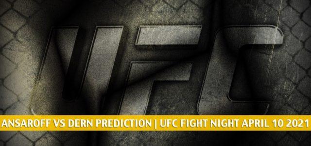 Nina Ansaroff vs Mackenzie Dern Predictions, Picks, Odds, and Betting Preview   UFC Fight Night April 10 2021
