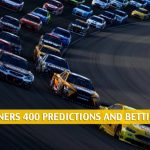 Toyota Owners 400 Predictions, Picks, Odds, and Betting Preview - April 18, 2021