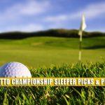 2021 Palmetto Championship Sleeper Picks and Predictions