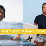 2020-2021 Olympic Surfing Odds and Predictions | Finals Day