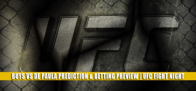 Cheyanne Buys vs Gloria de Paula Predictions, Picks, Odds, and Betting Preview | UFC Fight Night July 31 2021