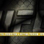 Derek Brunson vs Darren Till Predictions, Picks, Odds, and Betting Preview | UFC Fight Night September 4 2021