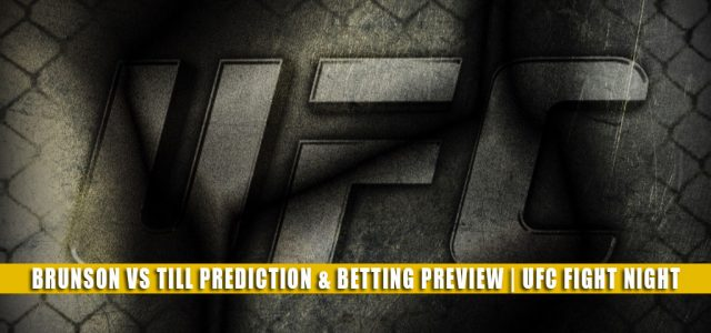 Derek Brunson vs Darren Till Predictions, Picks, Odds, and Betting Preview   UFC Fight Night September 4 2021