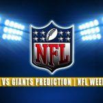 Atlanta Falcons vs New York Giants Predictions, Picks, Odds, and Betting Preview | NFL Week 3 – September 26, 2021