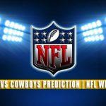 Carolina Panthers vs Dallas Cowboys Predictions, Picks, Odds, and Betting Preview | NFL Week 4 – October 3, 2021