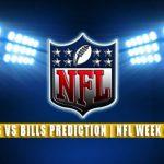 Houston Texans vs Buffalo Bills Predictions, Picks, Odds, and Betting Preview | NFL Week 4 – October 3, 2021