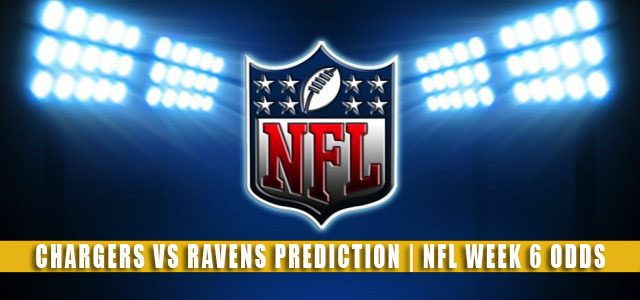 Los Angeles Chargers vs Baltimore Ravens Predictions, Picks, Odds, and Betting Preview | NFL Week 6 – October 17, 2021