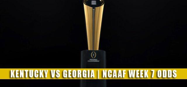 Kentucky Wildcats vs Georgia Bulldogs Predictions, Picks, Odds, and NCAA Football Betting Preview | October 16 2021