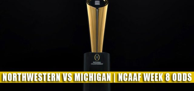 Northwestern Wildcats vs Michigan Wolverines Predictions, Picks, Odds, and NCAA Football Betting Preview   October 23 2021