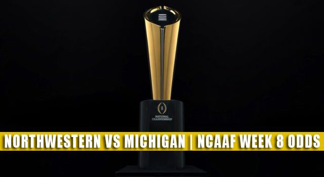 Northwestern Wildcats vs Michigan Wolverines Predictions, Picks, Odds, and NCAA Football Betting Preview | October 23 2021