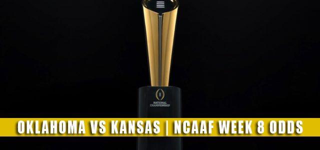 Oklahoma Sooners vs Kansas Jayhawks Predictions, Picks, Odds, and NCAA Football Betting Preview   October 23 2021