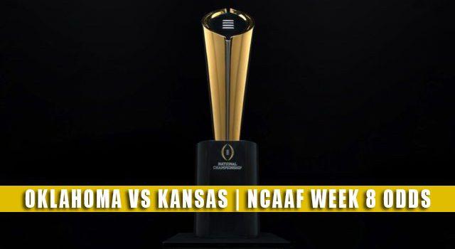 Oklahoma Sooners vs Kansas Jayhawks Predictions, Picks, Odds, and NCAA Football Betting Preview | October 23 2021