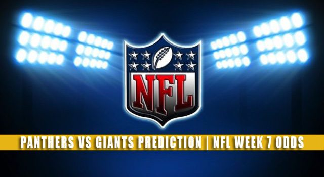 Carolina Panthers vs New York Giants Predictions, Picks, Odds, and Betting Preview | NFL Week 7 – October 24, 2021