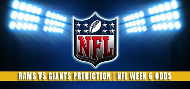 Los Angeles Rams vs New York Giants Predictions, Picks, Odds, and Betting Preview | NFL Week 6 – October 17, 2021
