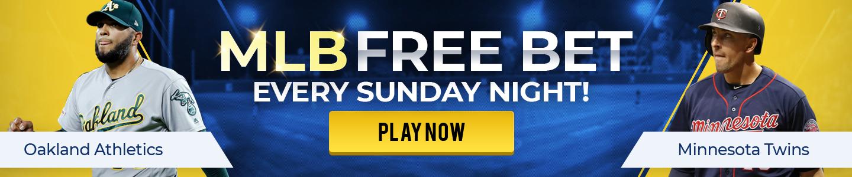 MLB Sunday Free Bet