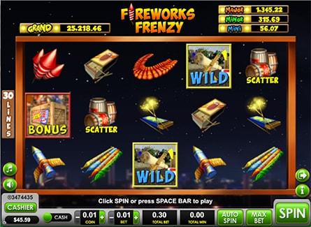 Spiele Fireworks Frenzy - Video Slots Online